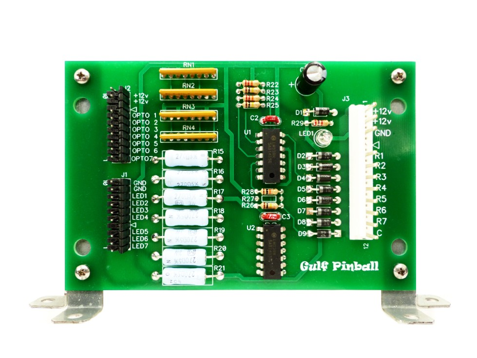 NEW WPC 7 Opto Switch Board A-15576 pinball parts