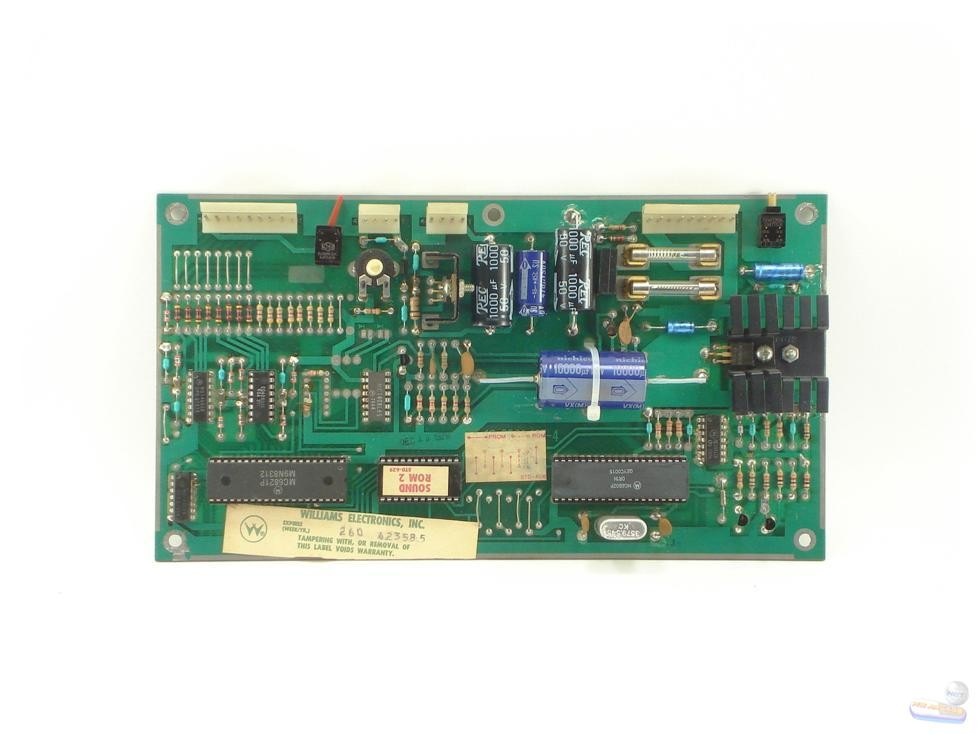 Williams System 4-6 Sound Board, 1C-2001-137-4