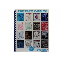 1987 Gottlieb Parts Catalog OEM