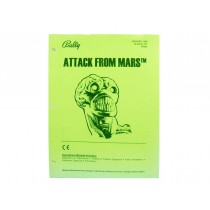 Attack From Mars Manual OEM Issue