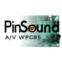 PinSound Sound Board for WPC-95 Games pinball parts 95AV replacement kit