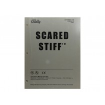 Scared Stiff Bally pinball OEM Manual Williams Bally WPC95 pinball