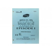 Star Wars Episode One Williams pinball 2000 manual parts