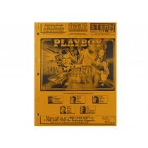 Playboy Manual OEM Issue from Stern Pinball White Star