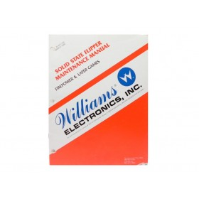 Williams Solid State Flipper Maintenance Manual OEM Issue
