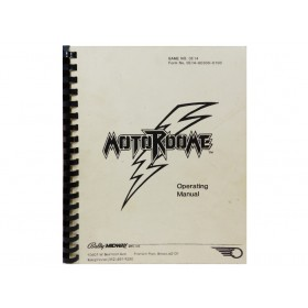 Motordome Operating Manual OEM Issue Bally/Midway
