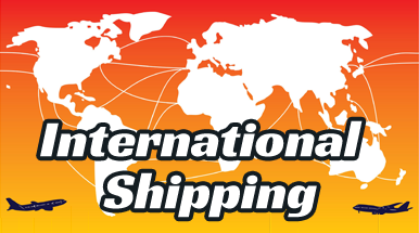 Internation Shipping at K's Arcade